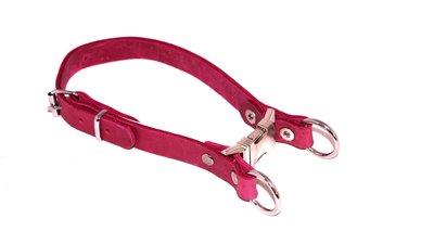 Halsband met snelsluiting PINK Line