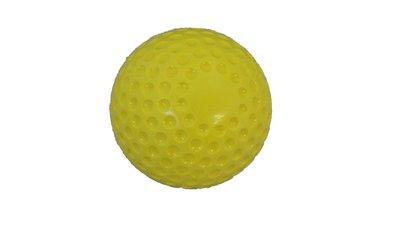 Gele bal hard
